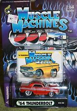 MUSCLE MACHINES 64 THUNDERBOLT   FROM THE 2002 COLLECTION ADULT COLLECTIBLE