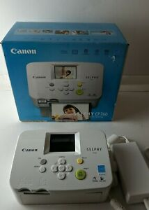 Canon Selphy CP760 Compact Photo Printer with Power Cord