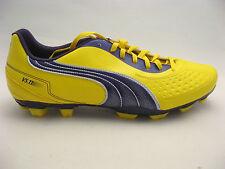 puma Mens Soccer Cleats 11.5 Vibrant Yellow V5.11 I FG Purple #102337 NEW Futbol