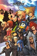 "Kingdom Hearts - Group - Video Game Poster Wall Art by Trends 23"" x 34"""