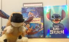 new HEROES O RING shiny Blue foil slip cover EDITION LILO & STITCH DVD Disney