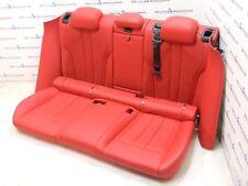 BMW F86 x6m Hintersitze Sportsitze Sitze Rear Seats Leder MERINO MUGELLO ROT