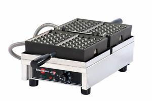 Waffle Maker 4 x 7 Liège 180° Krampouz