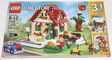 LEGO Creator CHANGING SEASONS 31038 3-in-1 summer autumn winter cottage house