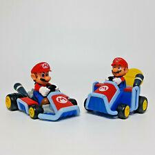 MARIOKART WII Pull-Back-Racers circa 13 CM x 8 cm grande selezione NUOVO