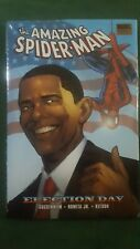 Amazing Spider-Man Election Day Obama Premiere Edition Sealed GN HC Hard Cover