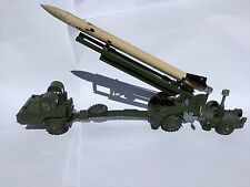 DINKY TOYS MISSILE ERECTOR AND CORPORAL MISSILE LAUNCHER 666 1959– 64 ENGLAND