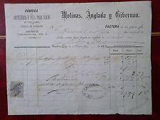 X4-SELLO FISCAL SOBRE DOCUMENTO AÑO 1883 EDIFIL ALEMANY AÑO 1883 Nº4.VALOR SOBRE