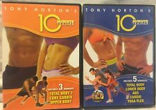 NEW 8 10 Minute Trainer workouts on 2 DVDs lot Tony Horton Beachbody total body
