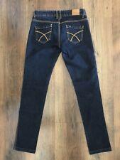 Riders By Lee Ladies Jeans Size 8 Low Super Skinny Blue Denim