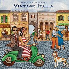Putumayo Vintage Italia World Music Classic Dance & Vocal Music Songs New