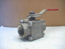 """WORCESTER 1"""" 466T CF8M Stainless Steel HIGH PRESSURE BALL VALVE"""