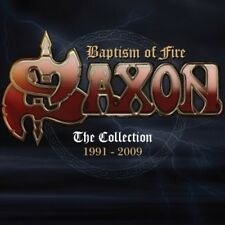 Baptism Of Fire: Collection 1991-2009 - Saxon (2016, CD NIEUW)
