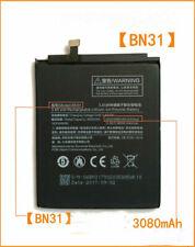 1pcs New Battery For Xiaomi Mi 5X Mi5X Redmi Note 5A 5A Pro BN31 3000mAh