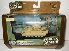 1/72nd Die Cast Model Forces of Valor M3A2 BRADLEY Armored Fighting Vehicle 2005