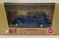 BRUMM R84 FIAT 508C 1100 cabriolet HP32 diecast car dark blue black roof 1:43