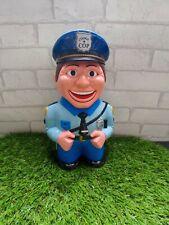 More details for cookie cop cookie jar ~ talking policeman ~ biscuit barrel novelty comedy, vgc