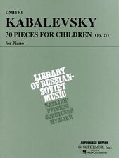 30 Pieces for Children, Op. 27: Piano Solo (Paperback or Softback)