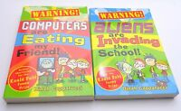 Bundle of 2 Dinah Capparucci Books Paperback Warning! Computers Eating my Friend