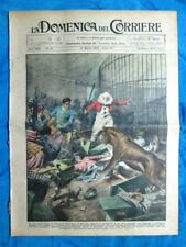 La Domenica del Corriere 31 marzo 1929 Aulnay-de-Saintonge - Parigi - Umberto