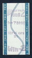 SECRETARIAT - 1973 MARLBORO CUP INVITATIONAL $2.00 WIN HORSE RACING TOTE TICKET!