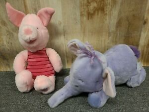"Disney Store Exclusive Lumpy Heffalump Elephant Piglet Winnie the Pooh Plush 14"""