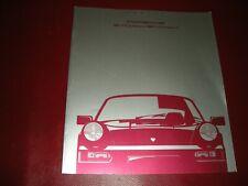 PORSCHE PRESS BROCHURE PORSCHE 911 CARRERA 2 |911 CARRERA 4 -NUOVO IN TEDESCO