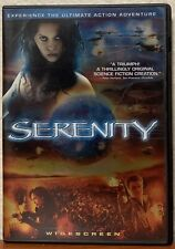 Serenity (Dvd, 2005, Anamorphic Widescreen) Firefly Inspired Movie
