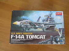 ACADEMY 1:48 U.S. NAVY FIGHTER F-14A TOMCAT MODEL KIT AEREO