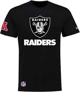 New Era T-Shirt  Oakland Raiders Herren Schwarz