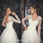 White Ivory V Neck Wedding Jacket Bridal Boleros Shawl Lace Top Wraps Appliques