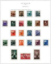 1945 Serie Democratica 23 valori USATA