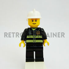 LEGO Minifigures - 1x cty090 - Fireman - Pompiere Omino Minifig 9348 7945