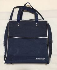 Boeing Blue Small Travel Tote Carry Bag 13x14x5