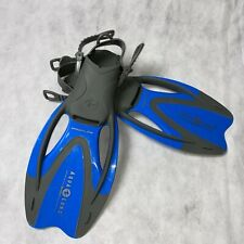 Aqua Lung Youth Swimming Fins Flippers ProFlex Diving Snorkeling S/M 1-3 32-35
