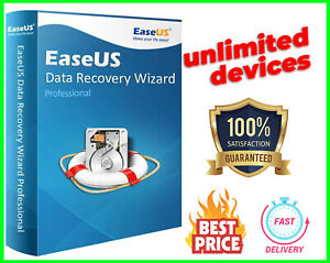 EaseUs Data Recovery Wizard Profesional 🔥Unlimited Devices✔️Lifetime License✔️
