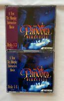 THE PANDORA DIRECTIVE Tex Murphy Movie  PC Game CD-ROM