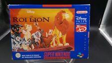 videojuego super nintendo snes completo BE FAH el rey lion / caja dañado