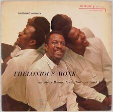 THELONIOUS MONK: Brilliant Corners Sonny Rollins US Riverside OG Jazz LP Vinyl