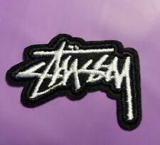 "New STUSSY Patch Clothes Shoes Fashion Hip Hop  Iron-On Sew-On 1""X 2"" USA"