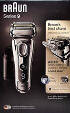 Braun Series 9 9296cc Herren Elektrorasierer mit Reinigungsstation - Neu Händler