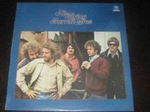 The Flying Burrito Bros rare '71 1st press LP on gold A&M mint- americana county