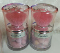Guerlain Meteorites Travelling Pearls-Face Powder-#2 Light-Duo Jars With Brush~*