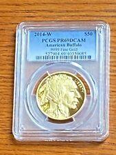 2014-W $50 American Buffalo .9999 Fine Gold PCGS PR69