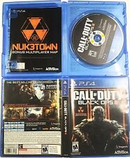 Call Of Duty Black Ops 3 III PS4 Game