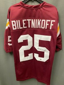 Fred Biletnikoff #25 Signed FSU Football Jersey Autographed AUTO LEAF COA Sz XL