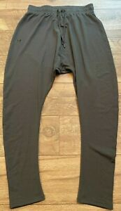 UNDER ARMOUR Loose Lightweight Gray Design Gym Yoga Athletic Pants womens Small