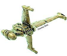 Star Wars Micro Machines Rebel Alliance B-Wing StarFighter Rogue One Bronze