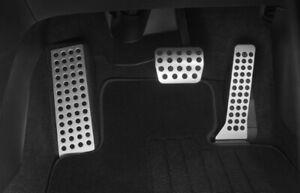 New Genuine Mazda 3 BM Mazda 6 GJ CX-5 KE KF Alloy Pedal Covers Set Auto-matic