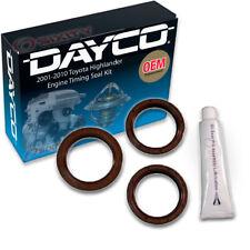 Dayco Engine Timing Seal Kit for 2001-2010 Toyota Highlander 3.3L 3.0L V6 - sz